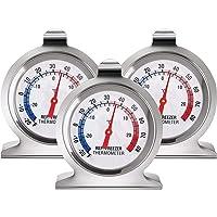 Thermomètre Réfrigérateur Congélateur Thermomètre à Large Cadran Série Classique Thermomètre de Température pour…