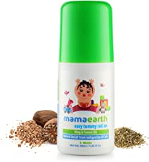 Mamaearth Easy Tummy Roll On for Digestion & Colic Relief with Hing & Fennel 40Ml