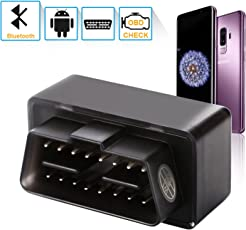[Aktualisierte Version] OBD2 Diagnosegerät Auto, PullPritt Bluetooth Diagnose Scanner für Android Windows, Fehlerspeicher lesen und löschen, geeignet für die meisten Fahrzeuge