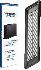 innoAura Vertikaler Standfuß für PS4 Pro mit Rutschfesten Füßen und Integrierten Lüftungsschlitzen für PlayStation 4 Pro