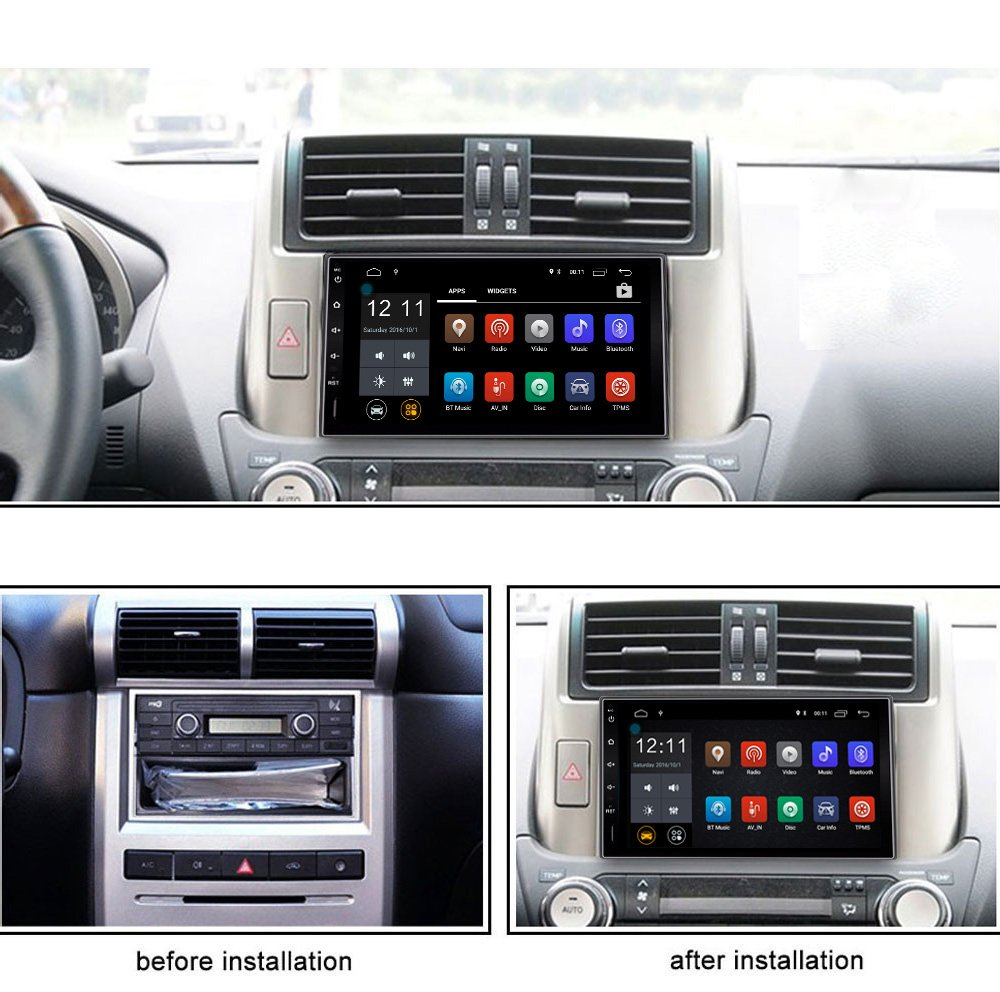 Ezonetronics-Android-Quad-Core-71-Autoradio-Stereo-7-Zoll-Bluetooth-40-GPS-Navigation-Build-in-Wifi-FM-AM-RDS-Lenkradsteuerung-1024-x-600-Spieler-CL0009