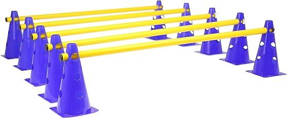 Das HAEST Steckhürdenset für Koordinationstraining - Vier Farbkombinationen