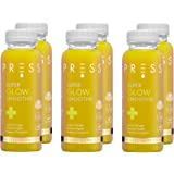 Press, Super Glow Smoothie 250ml X 6, Cold Pressed Immune Boosting Smoothie Containing Turmeric and Cayenne, Vegan…