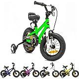 NB Parts - Bicicleta infantil para niños y niñas, BMX, a partir de 3 años, 12 pulgadas / 16 pulgadas