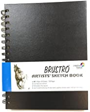 Brustro Artists' Sketch Book Wiro Bound A5-160 GSM , 120 pages Acid free