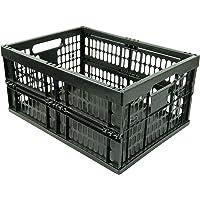 HRB Profi Klappbox, 32 Liter, 48 x 35 x 23cm, schwarz (1 Stück)