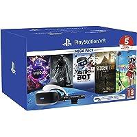 PS VR – Mega Pack V2 -PS VR headset + PS Camera +5 Giochi- Bundle