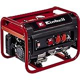 Einhell Generador eléctrico (gasolina) TC-PG 25/E5 (máx. 2400 W, motor de 4 tiempos con bajas emisiones, 2 tomas de 230 V, 15