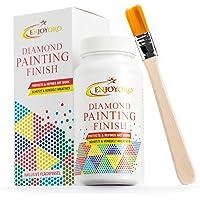 ENJOYORO® Diamond Painting Finish - 150 g - Transparente Schutzversiegelung - Kreative Arbeiten dauerhaft geschützt und…