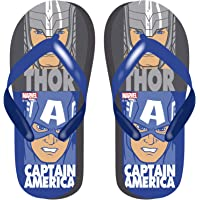Avengers Boys Classic Slip On Flip Flops Lightweight Garden Pool Beach Holiday Sandals, Incredible Kids Summer Shoes…