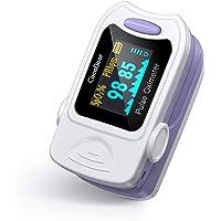 CocoBear Pulsossimetro, Saturimetro da Dito Portatile Professionale, Display Oled per Frequenza Del Polso(PR) e La…