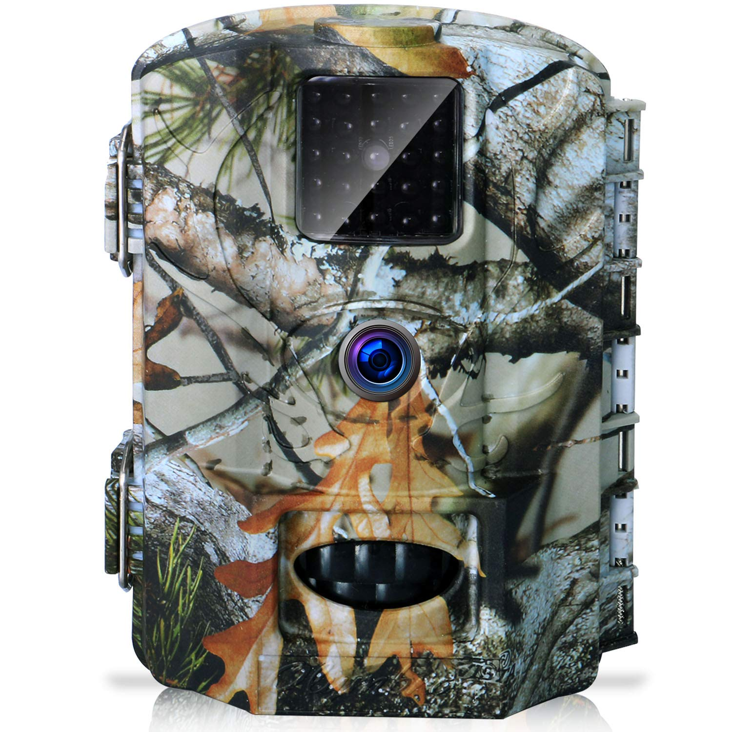 9f1565d6baf Olymbros Wildife Trail Camera Trap 16MP 1080P Game Cam with Infrared Night  Vision up to 82ft