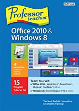 Professor Teaches Office 2010 and Windows 8 (DVD)
