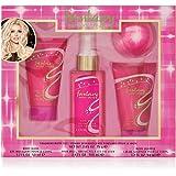 Britney Spears - Fantasy - Coffret Gel Moussant Corps & Brume Cheveux & Crème Soufflée Corps & Bombe Effervescente Bain - Sen