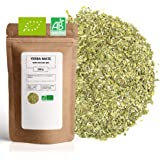 Yerba Maté Vert Bio ★ Origine Brésil ★ Riche en Vitamines et Antioxydants ★ Maté Vert en Vrac ★ Sachet 200 g avec Zip ★ 80 Bo