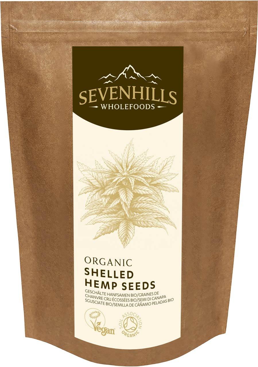 Sevenhills Wholefoods Organic Raw Shelled Hemp Seeds, European 300g