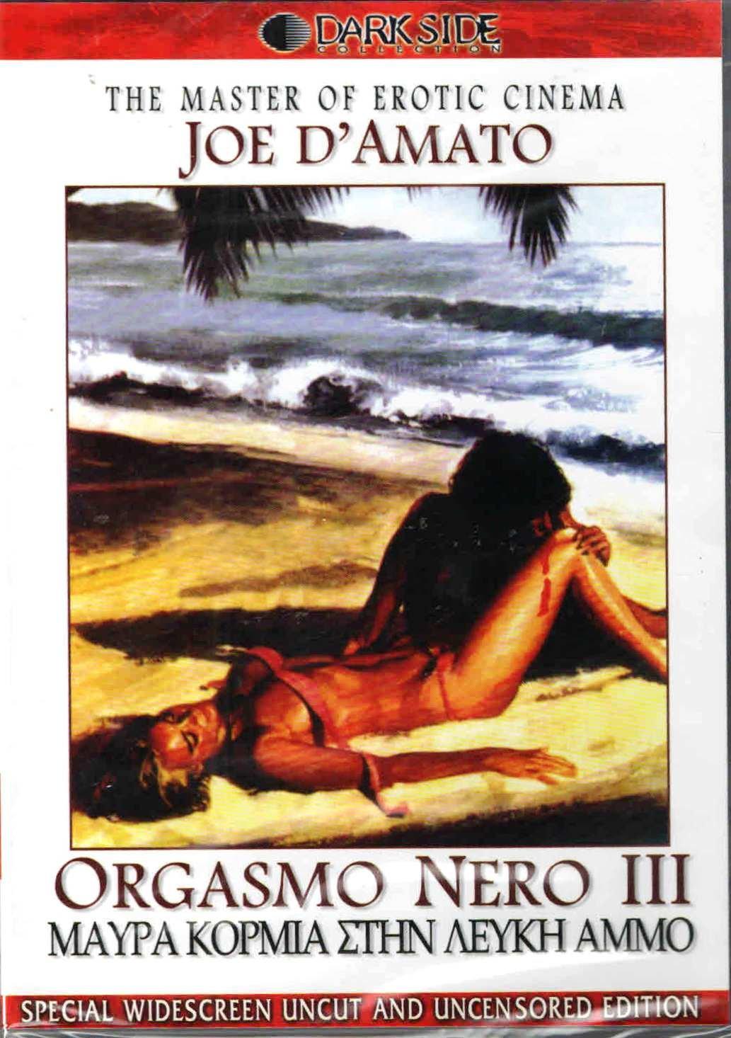 ORGASMO NERO PART THREE 3 (Black Bodies To white Sand) [ITALIAN WITHOUT ENGLISH] [REGION 2 PAL] [UNC