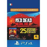 25 Lingotti d'Oro in Red Dead Online - 25 Lingotti d'Oro DLC | Codice di download PS4 - Account IT