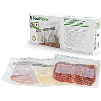 FoodSaver sacs de mise sous vide réutilisables avec fermeture zip à glissière | Pour appareils de mise sous vide…
