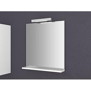 Spiegel Mit Ablage Girona 60 Und 80 Cm Breit Beleuchtung Wandspiegel