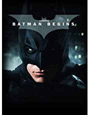 Batman Begins (4K UHD + Blu-ray + Digital Download + Digibook) (3-Disc Set Includes 36 Pages Limited Edition Filmbook) (Region Free + Fully Packaged Import)