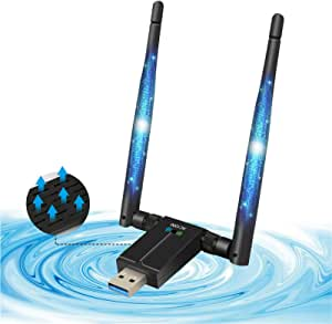 Aqoter 1200 Mbit S Wlan Adapter Dualband Usb 3 0 Wifi Computer Zubehör