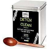 DETOX Clean Infusion+ Une Cuillère offerte . Minceur Perte Poids Coupe Faim Puissant Draineur Rapide Et Efficace Toxines Foie
