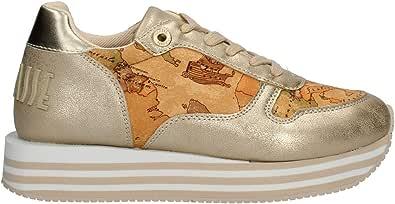 ALVIERO MARTINI Sneakers Donna Colore Platino/Geo Beige - N05590208X124