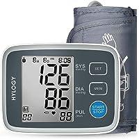 HYLOGY Misuratore Pressione da Braccio Digitale, Sfigmomanometro da Braccio Pressione Arteriosa, Grande Schermo LCD, 2…