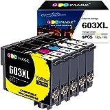 GPC Image Compatible Cartouches d'encre Remplacement pour Epson 603 603XL pour Expression Home XP-2100 XP-3100 XP-3105 XP-410