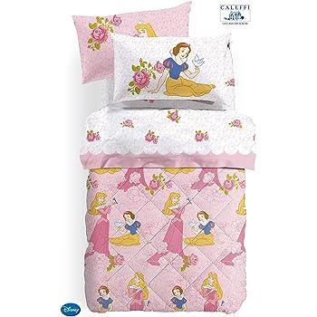 Piumone 1 Piazza E Mezza Disney.Trapunta Invernale Letto 1 Piazza E Mezza Disney Princess Rose