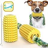 Rmolitty Giochi per Cani, Masticare Giocattoli per Cuccioli, Giocattoli per la Corda per la Pulizia della Dentizione del Mais