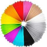 Infreecs PLA Filament 3D 1.75 mm, 10M Filament Stylo 3D, Ink Fils 3D Print Filaments pour Stylo d'impression 3D / Dessin…