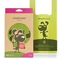 Earth Rated Easy-Tie Dog Poo Bags With Handles - 120 Extra Thick Poop Bags For Dogs | Each Lavender Scented Doggy Waste…
