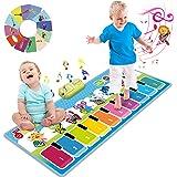 Joyjoz Piano Tapis Musical Plus de 90 Sonorités, Tapis de Danse pour Enfants, Jouets Musicaux pour Bébés, Filles & Garçons 1