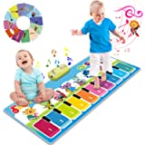 Joyjoz Tappeto Musicale Bambini con 90 Suoni, Tappeti Musicali Pianoforte, Strumenti Musicali Regalo per Bambini e…