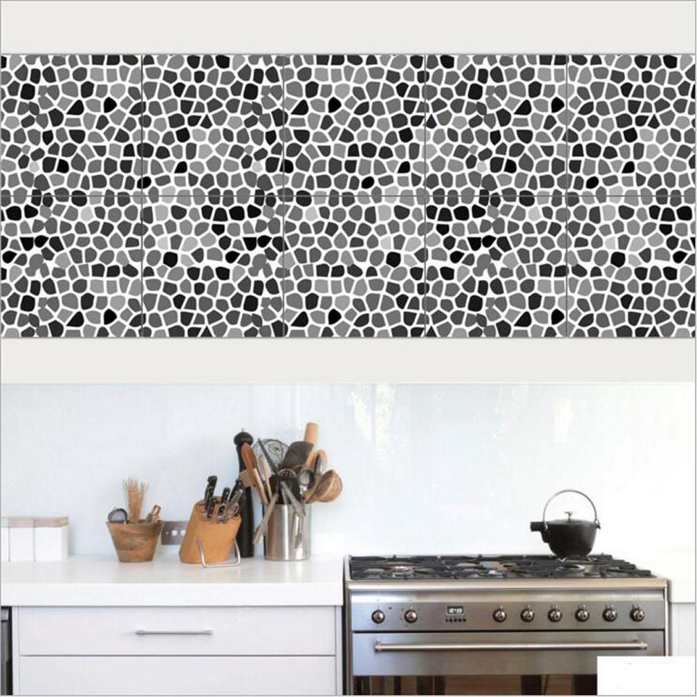 20*100cm*2pcs Stück Mediterraner Stil Fliesen Aufkleber Sticker Folie  Selbstklebend Für Küche Und Bad Tile Style Decals | | Deko Fliesenfolie Für  Küche U.
