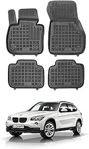 Rezaw Plast Hohe Gummi Fußmatten Mit Rand Gummimatten Von En Autoparts Kompatibel Für Bmw X1 F48 Von 2015 Auto