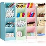 4 Pcs Multifonction Papeterie Porte-Stylo, Organisateur de Bureau Enfant, Organisateur de Stylo, Support de Stockage de Stylo
