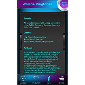 mobile phone ringtone whistle song