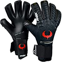 Renegade GK Eclipse Professional Goalie Gloves (Sizes 7-12, 6 Styles, Level 5) 4mm EXT Contact Grip | Pro Goalkeeper…
