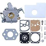 Haishine förgasare med karbmembran packning luftfilter kit för STIHL 017 018 MS170 MS180 MS 170 180 motorsåg OEM# ZAMA C1Q-S5