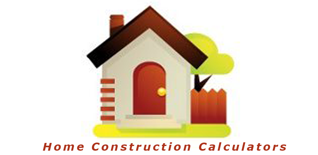 Home construction calculators appstore for for Home construction calculator