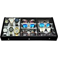 Proniks Sunglass Eyewear and Watchbox |Without Watches&Sunglasses - Wrist Watch Holder/Storage Box & Display Case…