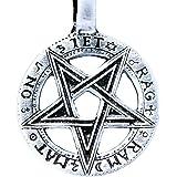 De Estrella de pentagrama colgante de estaño