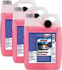 SONAX 3X 02665000 ScheibenReiniger gebrauchsfertig Red Summer Energy 5L