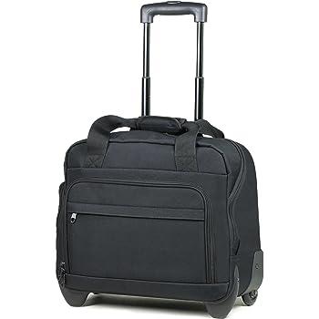 64afec386247d Members Essential On-Board Business Case Laptop Case on Wheels (Black)