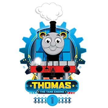 Thomas The Tank Engine Cog Wall Sticker (Extra Large Size) | Official Thomas  U0026 Friends Wall Stickers Range: Amazon.co.uk: Kitchen U0026 Home