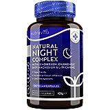 Integratore naturale sonno - melissa, camomilla, 5HTP, L-teanina, magnesio, vitamina B12 -normale funzionamento del sistema n