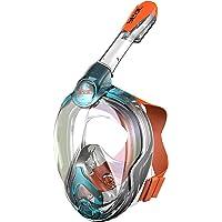 Seac Magica, Schnorchelmaske Vollgesichtsmaske Anti-Beschlag system mit einem weichen Maskenkörper, Dry Top Schnorchel…